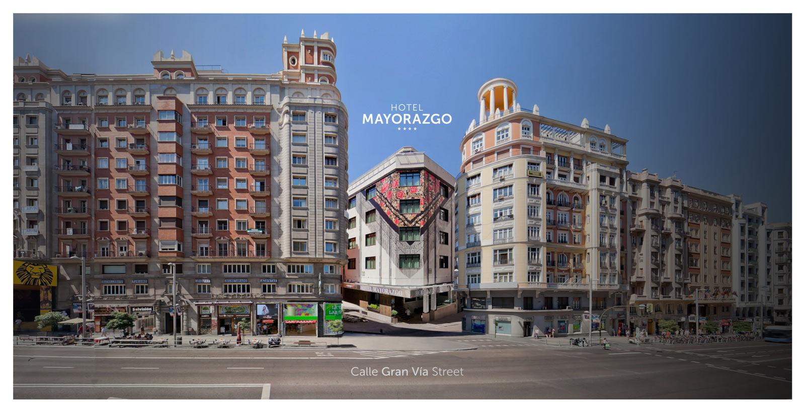 Galer A Hotel Mayorazgo Madrid