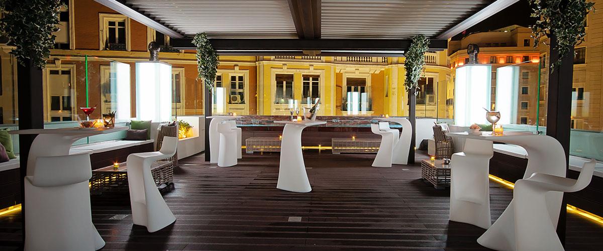 Terrace Hotel Mayorazgo Madrid